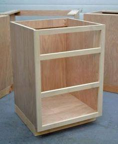 Lovely Building Base Cabinets, Cheaper Than Having Them Made And Installed. I Love  Ana White. How To Make Kitchen ...