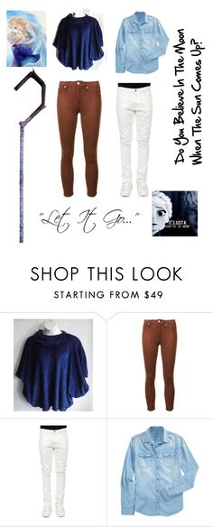 """""""Jelsa"""" by ash-the-emo ❤ liked on Polyvore featuring 7 For All Mankind, Valentino, Calvin Klein Jeans and Disney"""