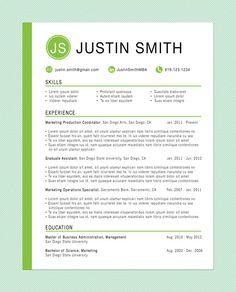 customized resume the innovator - Word Resume Template Free
