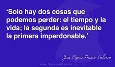 Frases de tiempo de Jose Maria Franco Cabrera