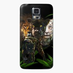 Art Phone Cases, Canvas Prints, Art Prints, Cotton Tote Bags, Panther, Equality, Lion, My Arts, Samsung Galaxy