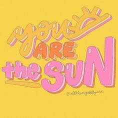 Unicorn Poster, You Are The Sun, Days Out, Wall Collage, Affirmations, Palette, Wisdom, Neon Signs, Bright