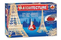 Architecture Model Kits - Bojeux Matchitecture Eiffel Tower * To view further for this item, visit the image link. Tower Models, Model Building Kits, Model Kits, My Father's World, Tower Building, Family Games, 3d Design, Design Color, Teaching Kids