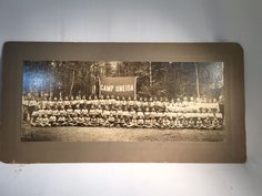 Vintage Photograph of Summer Camp at Camp Oneida No Frame Camp Picture