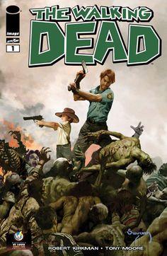 The Walking Dead #1 from Arthur Suydam