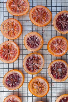 Candied Blood Oranges | With Love  Kacie