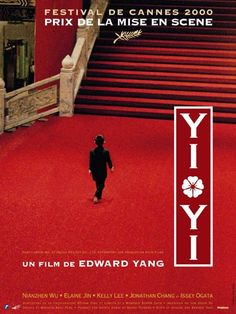 A One and a Two (Edward Yang, 2000), a three hour award winning Taiwanese drama about the lives of a  middle class Taipei family across three generations. Find this at 12869 (video)