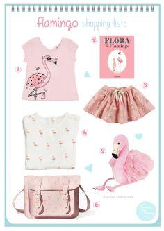 flamingo shopping list