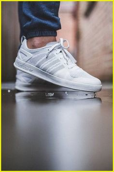 "b08b3966c The Best Men s Shoes And Footwear   Adidas Originals Primeknit Palace Pro  ""Triple White"" -Read More –"