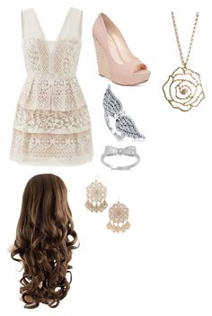 """""""Untitled #248"""" by rikey-byrnes on Polyvore featuring BCBGMAXAZRIA, Jessica Simpson, BERRICLE, Forever 21 and Aéropostale"""