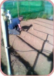 Wasserleitungen werde gelegt