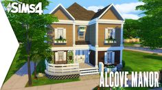 THE SIMS 4 SPEED BUILD #151   THE ALCOVE