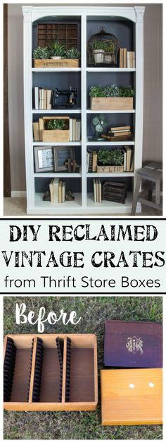 DIY Reclaimed Vintag