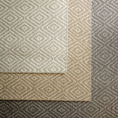 Diamante Sisal Rug from Williams-Sonoma Home.  Swatches available.  6x9 rug is $895 retail.