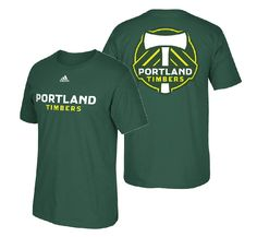 Yell loud at a Timbers game and show off your team colors in this Portland Timbers Adidas soccer t shirt which is licensed by the MLS for fans of the Timbers. Providence Park, Portland Timbers, Portland City, Adidas, Sweatshirts, Green, T Shirt, Supreme T Shirt, Tee Shirt