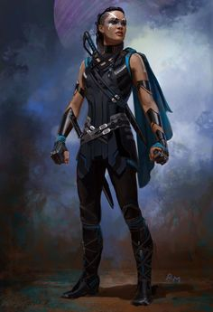 Thor Ragnarok Concept Art Collection Armor Refs - Art By Andy Park Top And Ryan Meinerding Bottom These Are Just Of The Various Valkyrie Concept Designs That Were Drawn Up For The Movie Thor Ragnarok And Instead They Went With A Marvel Dc, Marvel Heroes, Asgard Marvel, Female Characters, Fantasy Characters, Thor Valkyrie, Character Inspiration, Character Concept, Dark Art