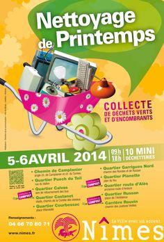 Campagne Nettoyage de Printemps 2014 Nîmes