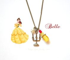 Beauty and the Beast  Belle  Inspired by VintageLightJewelry