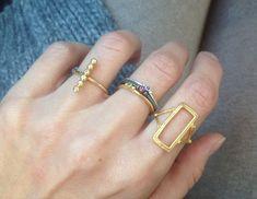 Handmade Jewelry, Bracelets, Rings, Gold, Diy Jewelry, Bracelet, Ring, Handmade Jewellery, Arm Bracelets