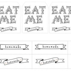 EatMe Tags by Funky Time
