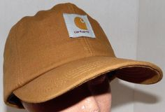 Carhartt RUGGED Outdoor Work Hat Warm Ear Flap Heavy Duty Brown Size Small  NICE  Carhartt  BaseballCap 157b6f5d71c7
