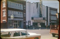 Old movie theater, Drummondville, Quebec A Wrinkle In Time, Old Movies, Movie Theater, Architecture, History, Places, Landscape, Cinema, Arquitetura