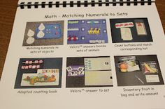 The Autism Angle: TASKS GALORE! Great site for file folder games also