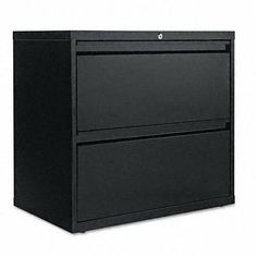 FILE,LAT 2DWR 30IN WDE,BK by ALERA. $618.99. Anti-Tip Mechanism - Counterweight, Interlocking Drawers. Depth - 19 1/4 in. Drawer Features - Full-Width Recessed Pulls. Compliance, Standards - Meets or exceeds ANSI/BIFMA Standards. Color(s) - Black. 30 Wide Lateral File Cabinets