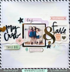 My Crew | October Kit | Michelle Whorwood