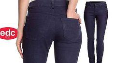 Esprit-Damen-Jeans-Roehrenjeans-dunkelblau-EDC-Neu-Gr-38