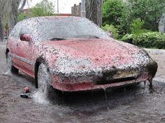 Worm Harvesting Using a Car