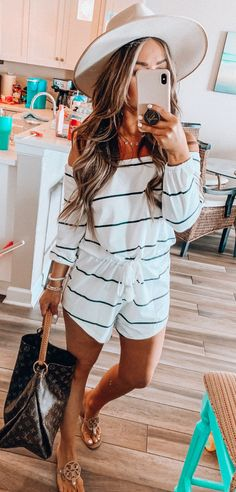 30 Genius spring outfits to copy now, - Summer Outfits Summer Wear, Spring Summer Fashion, Spring Outfits, Summer Romper, Casual Outfits, Cute Outfits, Fashion Outfits, Womens Fashion, Black Outfits