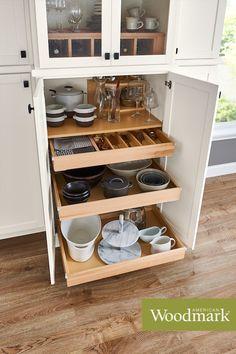 40 Get Organized Ideas American Woodmark Cabinets Kitchen Kitchen Cabinets Storage Organizers