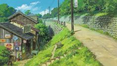 Studio Ghibli Up on Poppy Hill Scenery Studio Ghibli Background, Animation Background, Hayao Miyazaki, Up On Poppy Hill, Japanese Watercolor, Graphisches Design, Ghibli Movies, Jolie Photo, Anime Scenery