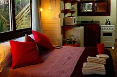 Échale un vistazo a este increíble alojamiento de Airbnb: Posada Lune de Miel - Cabañas en alquiler en Punta del Diablo