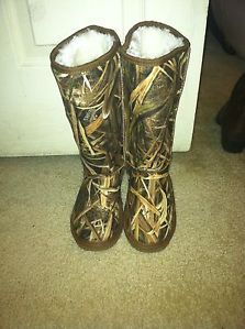 womens camo boots winter