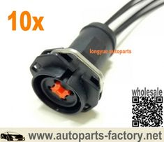 Set of 8 Fuel Injector Connector Pigtail fits Nippon Denso SUMITOMO