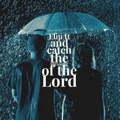 This Sunday @echochurchtv we will discover how to flip it in our lives. Services will be at 9:30 & 11:00. Make plans to attend and be sure to bring a friend. #ECFlipIt #rain #typography