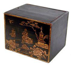 Chinese Export Tea Box