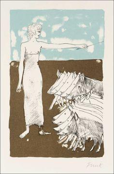 Book Graphics: The Odyssey Elisabeth Frink, Tate Gallery, Collage Illustration, European Paintings, Greek Art, Artist At Work, Art Images, Printmaking, Screen Printing