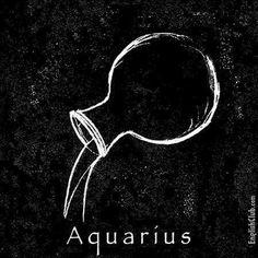 1bca2656ed55e Moon In Aquarius, Water Bearer, Zodiac, Tattoo Ideas, Crafts, 12 Zodiac