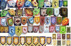 Nexo Knights App Shields | by turbokiwi