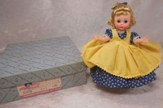 "Vintage Madame Alexander Kins 1959 Little Women ""Amy"" Mint in Box! in Dolls & Bears, Dolls, By Brand, Company, Character, Madame Alexander, Vintage (Pre-1973), 1948-59 | eBay"