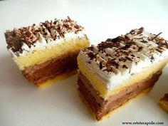 Easy cake recipes even for beginners and cake recipes without cooking Easy Cake Recipes, Sweets Recipes, Cooking Recipes, Desserts, Cake Videos, Food Videos, Choux Pastry, Romanian Food, Food Cakes