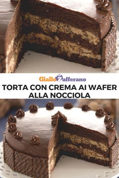 Hot chocolate in the West Indies - Clean Eating Snacks Chocolate Torte, Chocolate Wafers, Sweet Recipes, Cake Recipes, Dessert Recipes, Nutella Cake, Candy Cakes, Köstliche Desserts, Partys