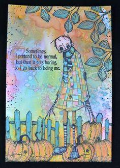 Het is weer Stampotique Word Up Weekend. Vandaag een postcard gemaakt met distress oxides. Die heb ik zowel voor de achtergrond als voor het inkleuren gebruikt. Alle stempels die ik gebruikt heb zi…