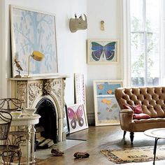 Butterfly Living Room
