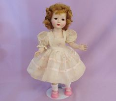 "Beautiful 15"" HONEY DOLL by EFFANBEE 1950s"