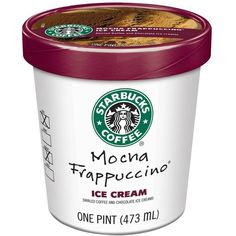 Starbucks Turns the Worst of Coffee into the Best of Ice Cream... ($1.99) ❤ liked on Polyvore featuring food, food and drink, fillers, starbucks and ice cream