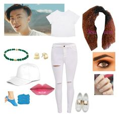You can be my AQUAMAN jay park lol♡♡ by kpoptwins on Polyvore featuring polyvore fashion style Valentino Anne Klein Boohoo clothing